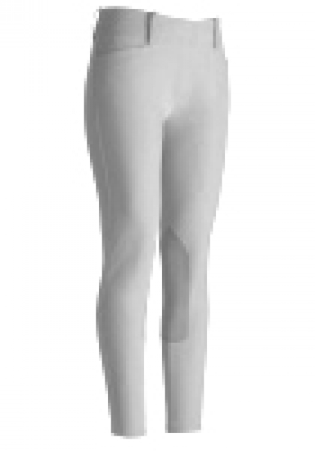 Ariat White Brittany Show Breeches  with Knee Patches