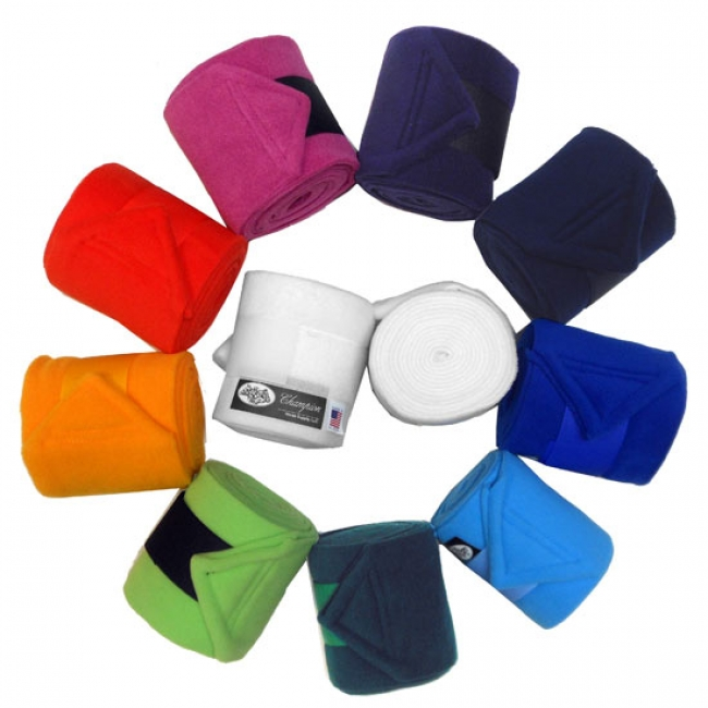Champion Fleece Polo Wraps for Horses