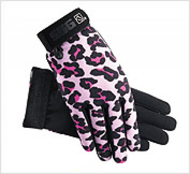 SSG All Weather Glove in Pink Leopard