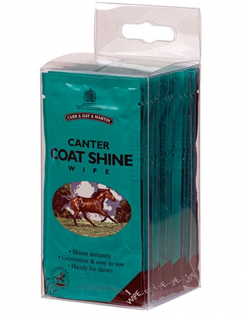 Carr Day and Martin Canter Coat Shine Wipes