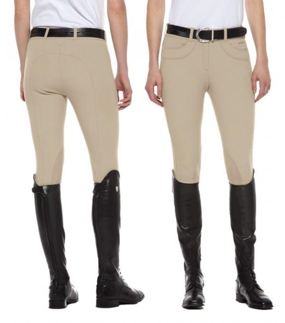 Ariat Olympia Low Rise Front Zip Euro Seat Breech