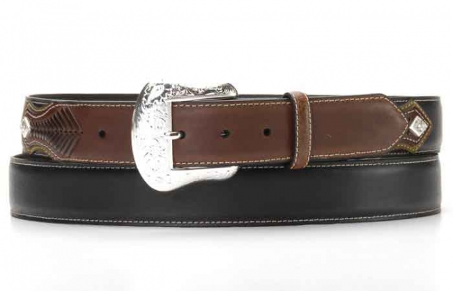 Nocona Men's Lace Billet Belt