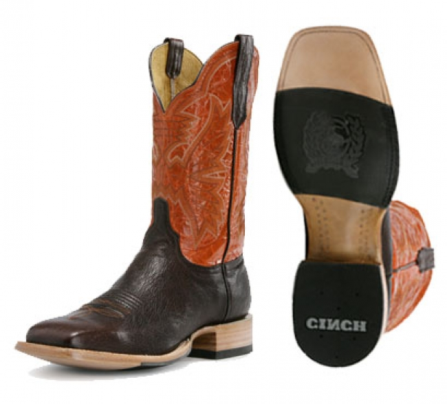 Womens Orange Cowboy Boots