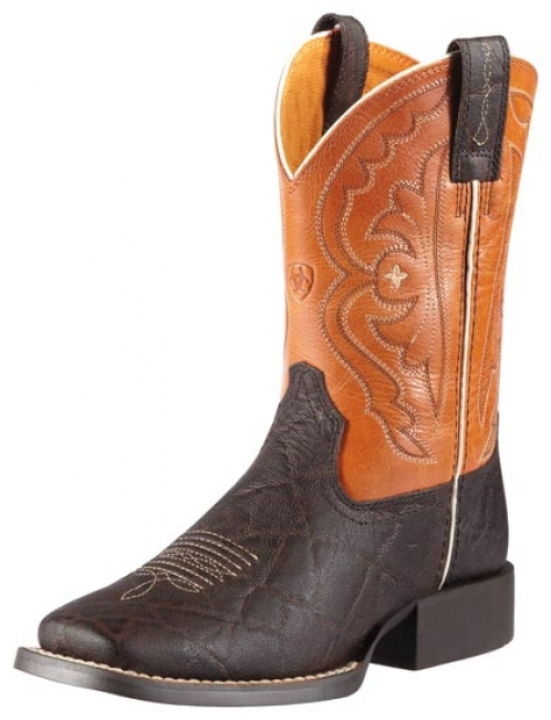 d433c2fd749 Ariat Quickdraw Western Boots for Kids