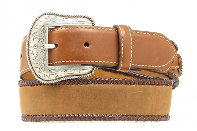 Nocona Children's Simple Brown Leather Belt