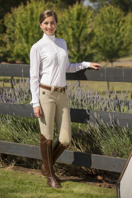 FITS Kate Show Breeches for Women in Tan