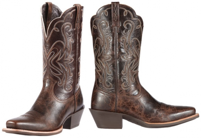 0e9bd484283 Ariat Women's Legend Western Boots in Chocolate Chip