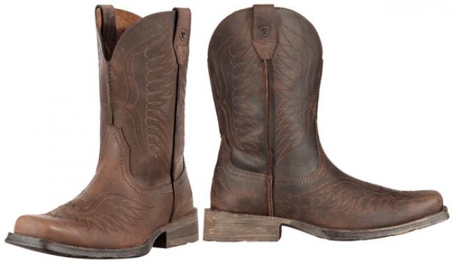 b9b3e9aac5a Ariat Men's Rambler Phoenix Square Toe Boot