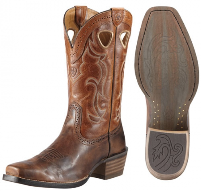 7bb0fbd661a7 Ariat Men s Rawhide Western Square Toe Boot