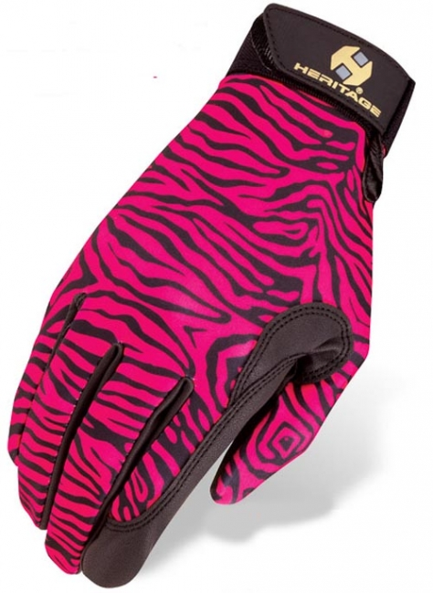 Heritage Performance Gloves Kids Wild Zebra
