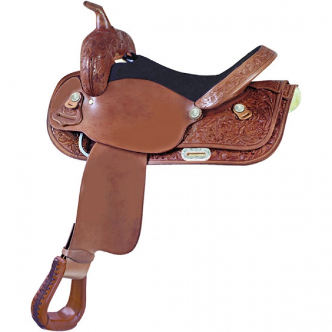 786d7089116c Simco-Longhorn Bismark Flex Trail Western Saddle 17