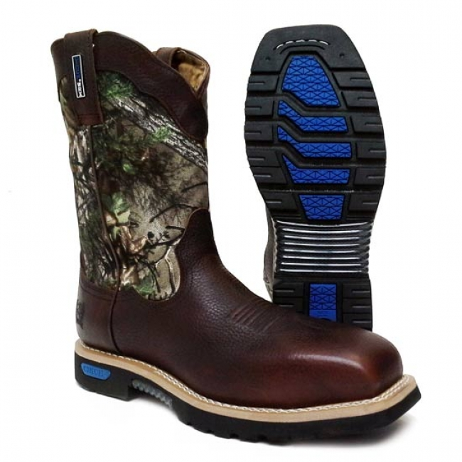 Cinch WRX Master Safety Toe Work Boot in Camo