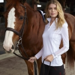 Ariat Sunstopper Show Top in White
