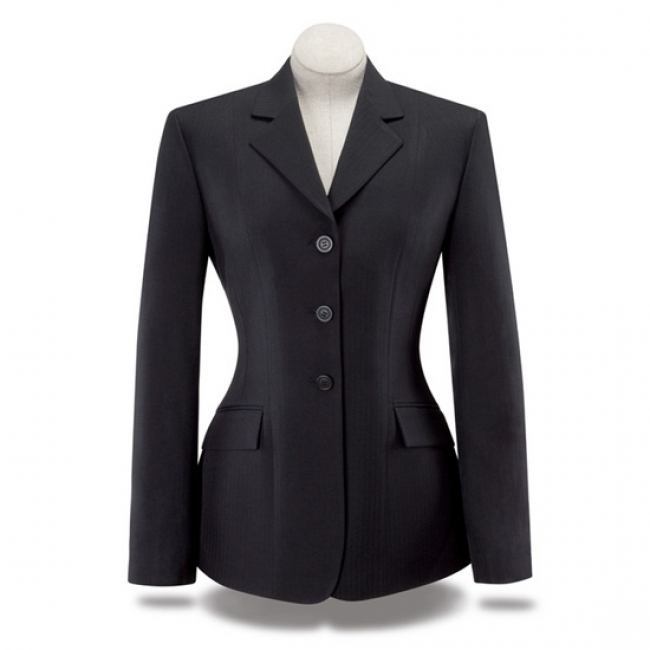 2611ba63e RJ Classics Ladies Black Herringbone Jacket