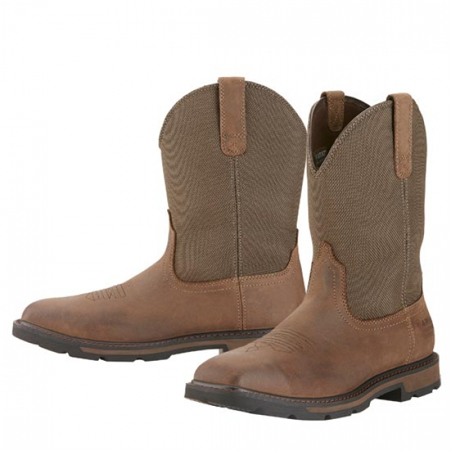 Ariat Groundbreaker Wide Square Toe Waterproof Boots