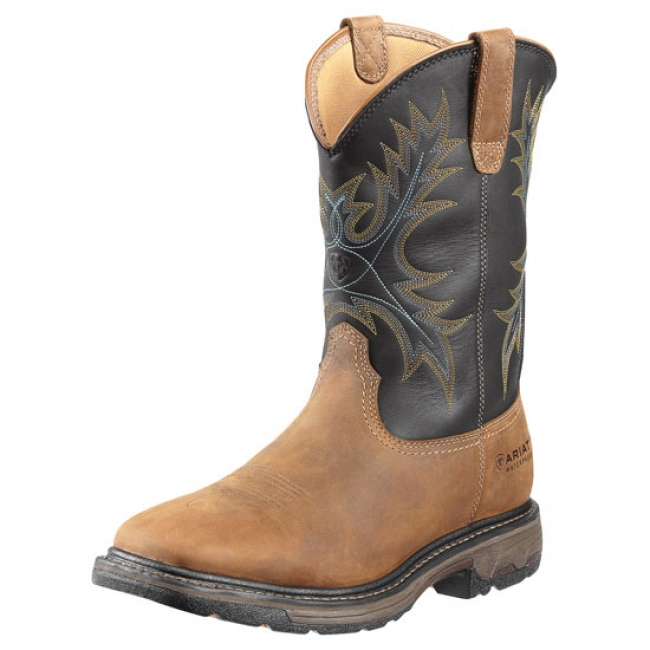 Ariat WorkHog Wide Square Steel Toe Boots
