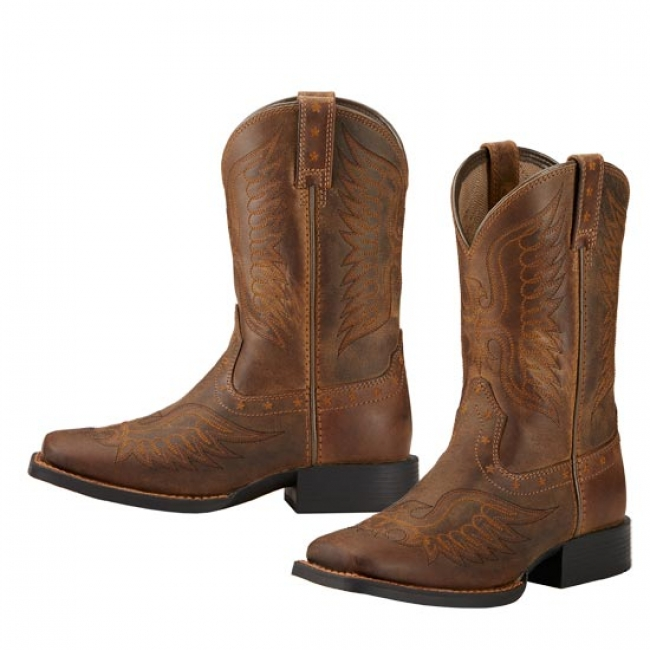 1a1f6721d1b Ariat Kids Honor Western Boots