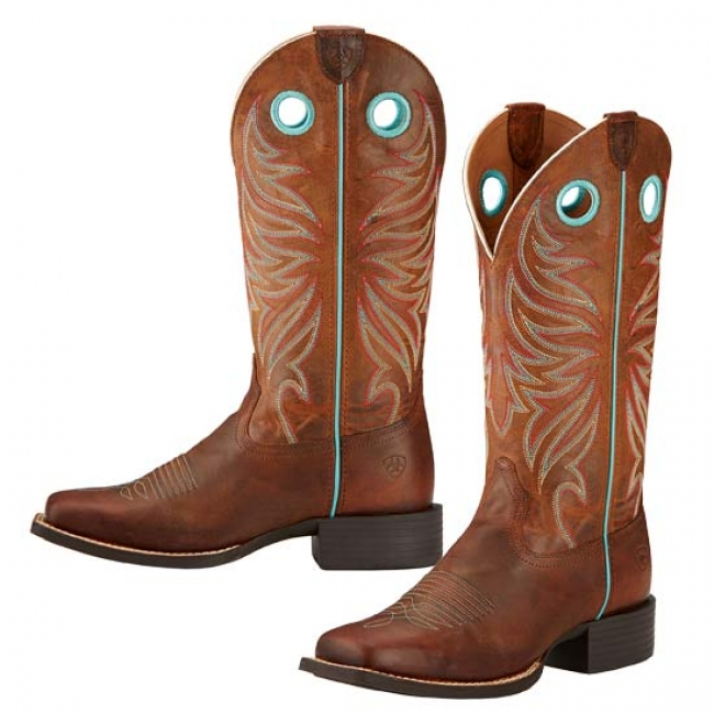 cdf881d603b Ariat Round Up Ryder Cowgirl Boots