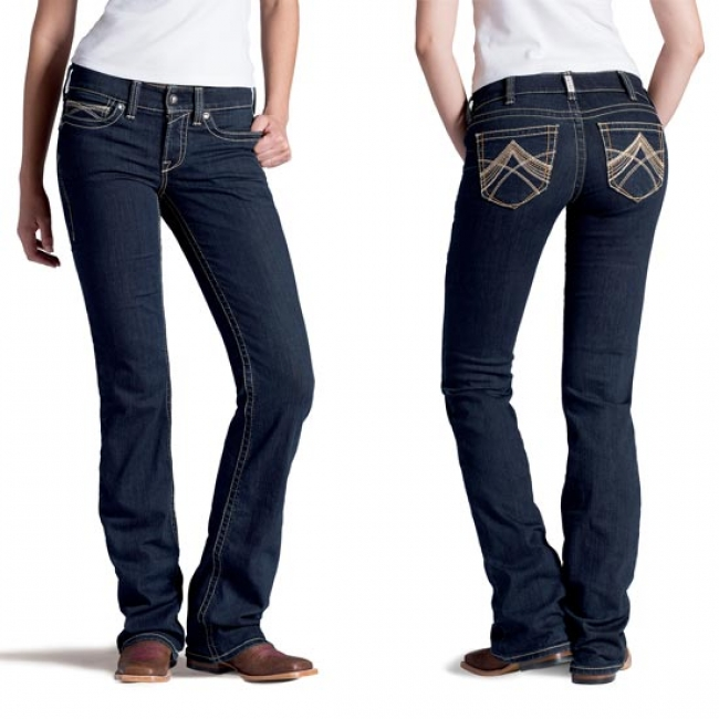 Ariat Real Eclipse Boot Cut Jean