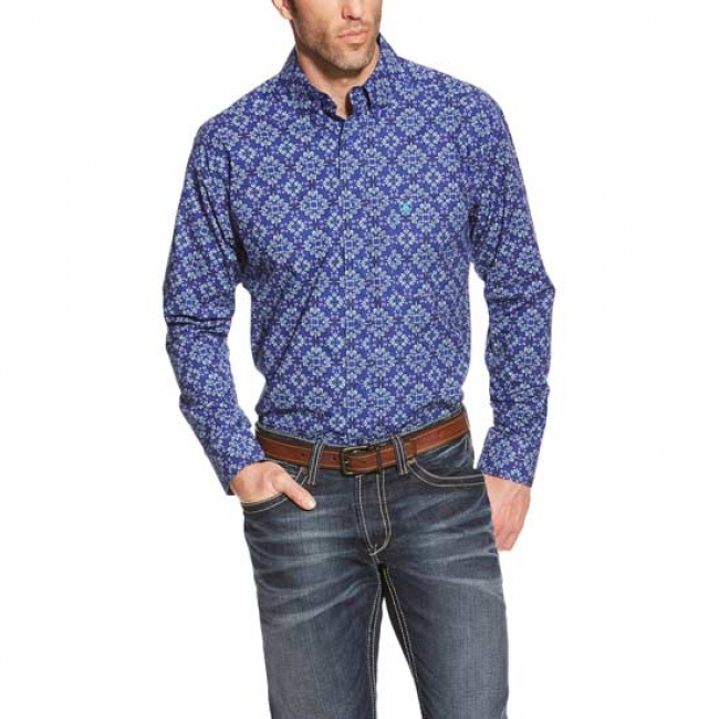 Ariat Dante Men's Print Button Down Shirt