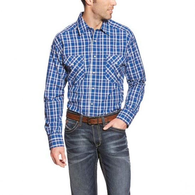 Ariat Thorndale Long Sleeve Big and Tall Snap Shirt