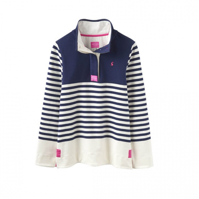 Joules Cowdray Sweatshirt in French Navy Block