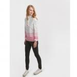 Joules Coastal Cowdray Sweatshirt in Pink Ombre