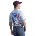 Cinch Gray Patriotic T-Shirt