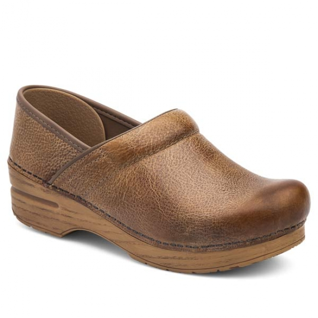 Dansko Professional Clogs in Honey