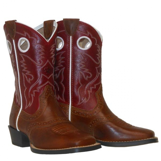 c3fa8154d8a Ariat Roughstock Western Boots for Kids