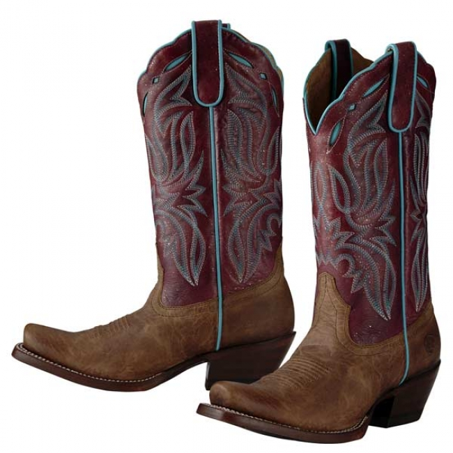 Ariat Bristol Square Toe Western Boots for Women