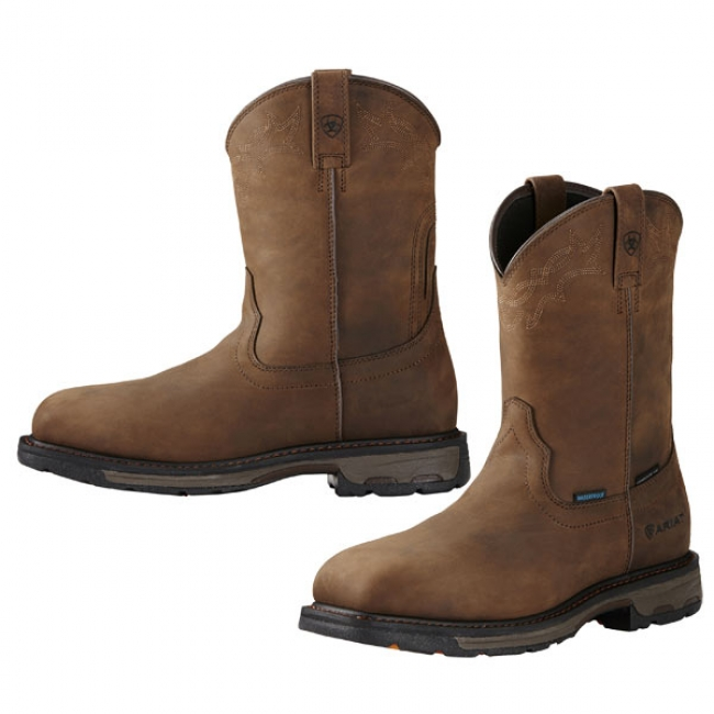 06a5e6871d43a Ariat Square Toe Work Boots for Men