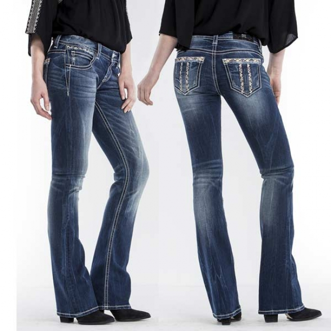 Miss Me Boot Cut Jeans - City Limits