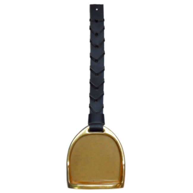 Solid Brass Stirrup Picture Frame