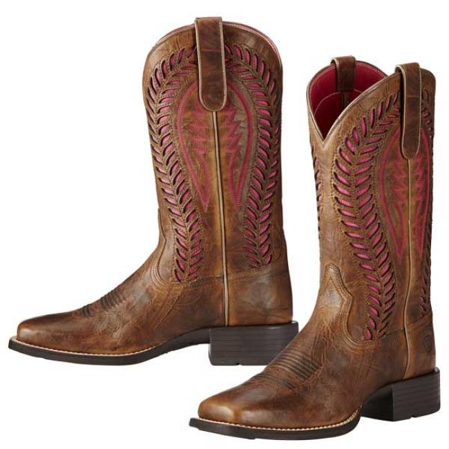 80c6c349ece Ariat Quickdraw VentTEK Western Boots for Women 10B
