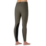 Kerrits All-Terrain Pocket Knee Patch Breeches in Dark Bay