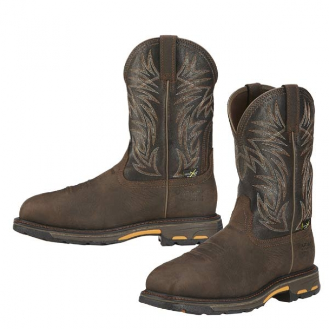 c4ca751096b Ariat Workhog Wide Square Composite Toe with Met Guard