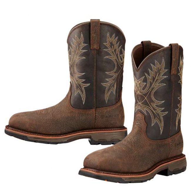2ed3d0be7c8 Ariat Workhog Square Composite Toe Work Boot
