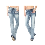 Grace in LA Ember Easy Fit Bootcut Jeans