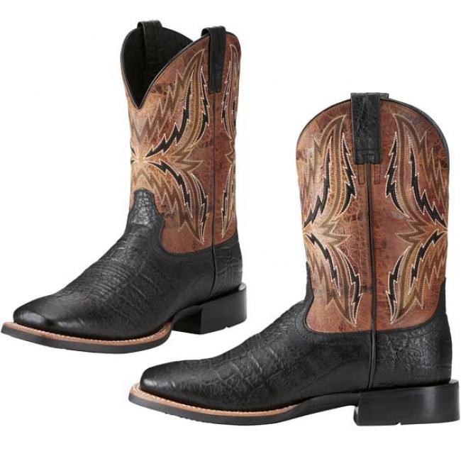 63bcc7c31eb Ariat Men's Arena Rebound Cowboy Boots in Black