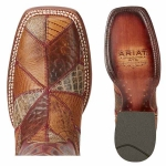 Ariat Ladies Reese Exotics Wide Square Toe Boots