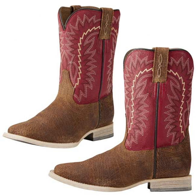 cheap prices meticulous dyeing processes various kinds of Ariat Children's Relentless Cowboy Boots Red