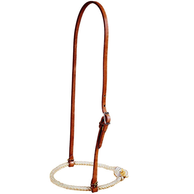 Tory Leather Waxed Rope Noseband