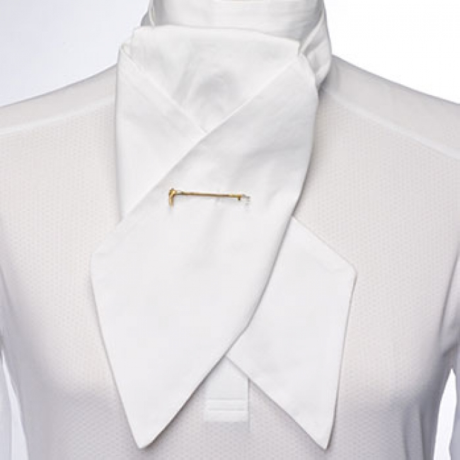 Essex Classics White Stock Tie