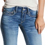Ariat REAL Motion Mid Rise Jeans for Women