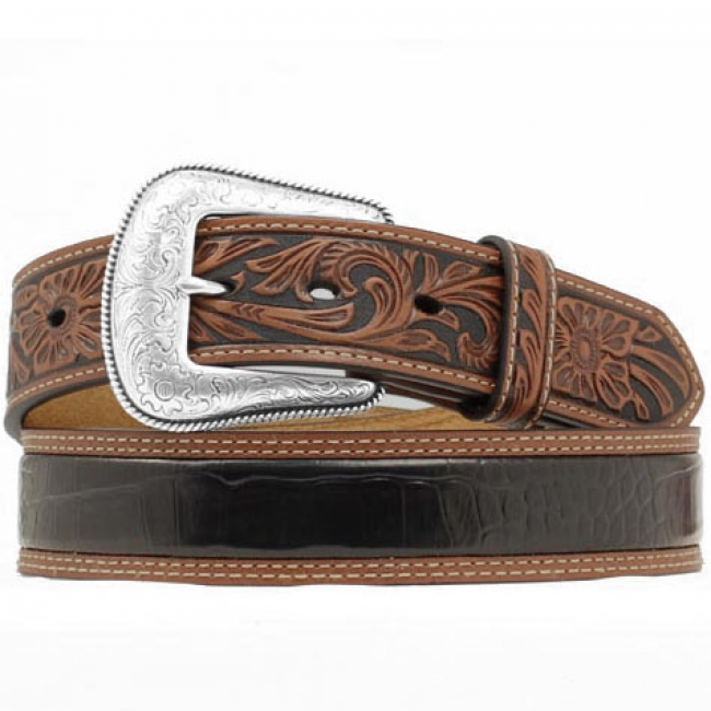 Just another good looking simple men's western belt.