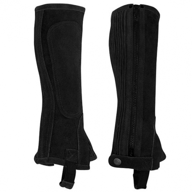 Perris Suede Zipper Half Chaps for Kids