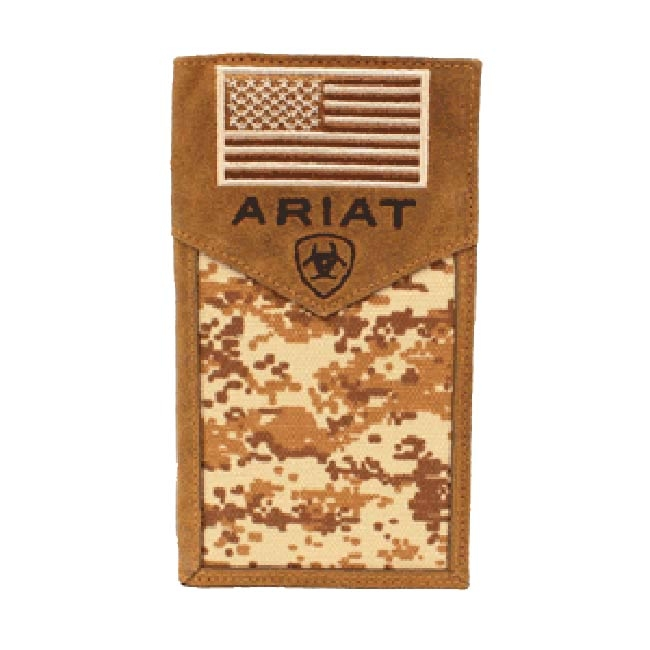 Ariat Patriot Camo Rodeo Style Wallet