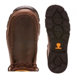 Ariat Dark Brown Edge LTE Moc H2O for Men