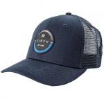 Cinch Navy Circular Logo Truckers Hat